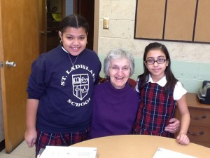 Joanne-Ginter-and-two-students-300x225
