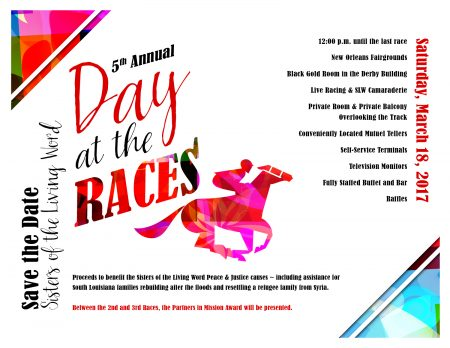 day at the races - flyer
