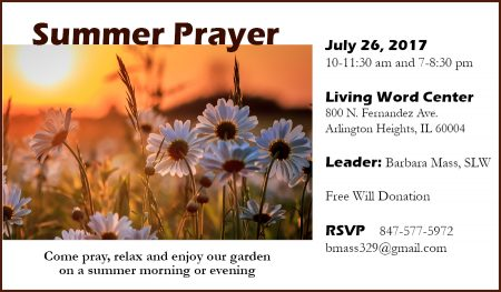 Summer Prayer @ Living Word Center