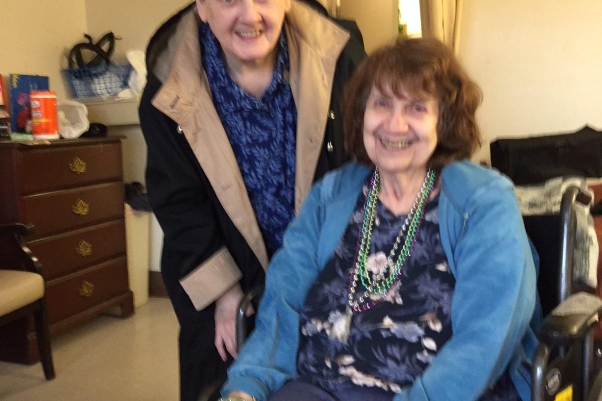 Janis Riebling And Kathleen Heer