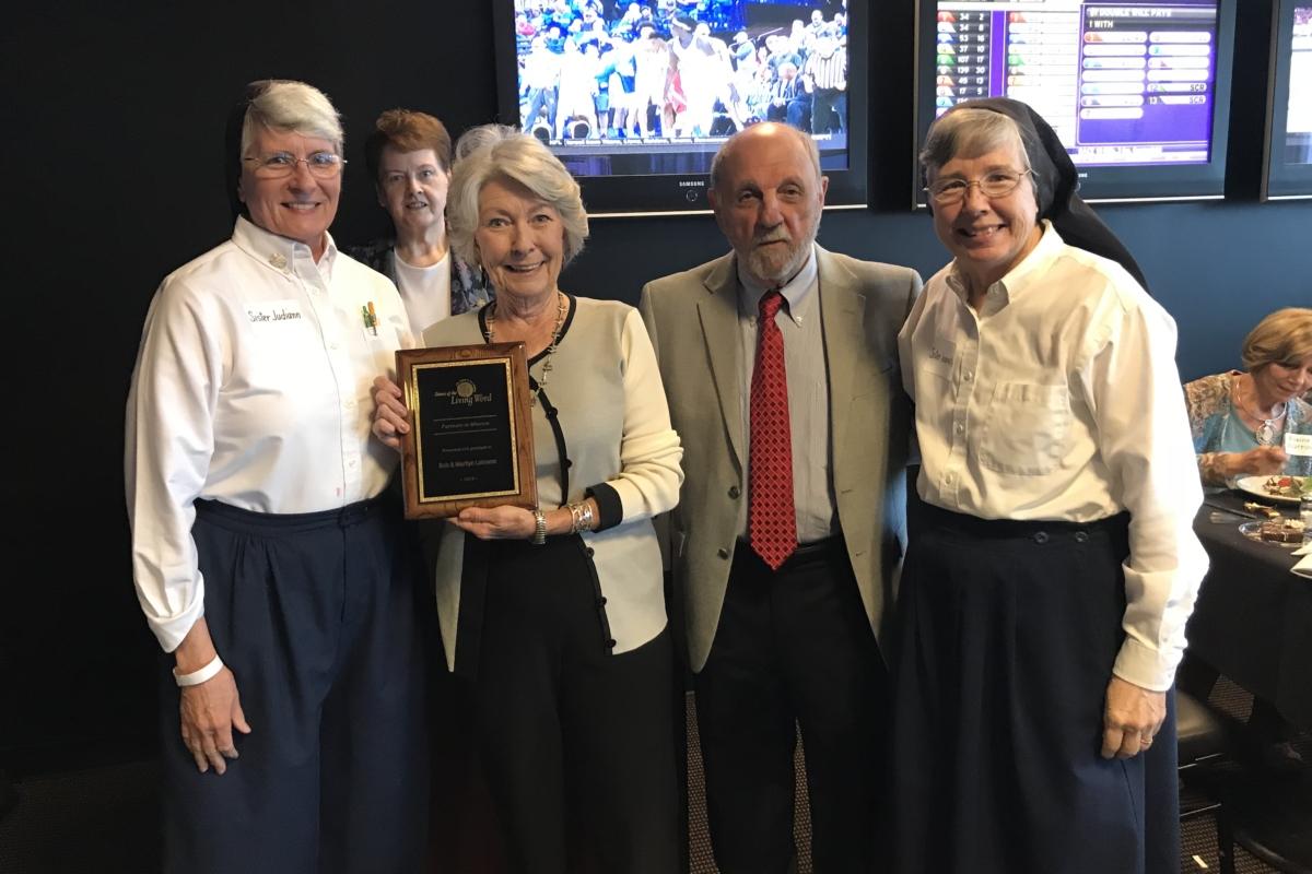 Lobranos Receive Award