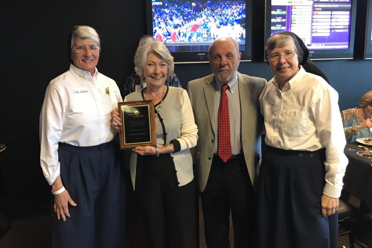 Lobranos Receive Award 2