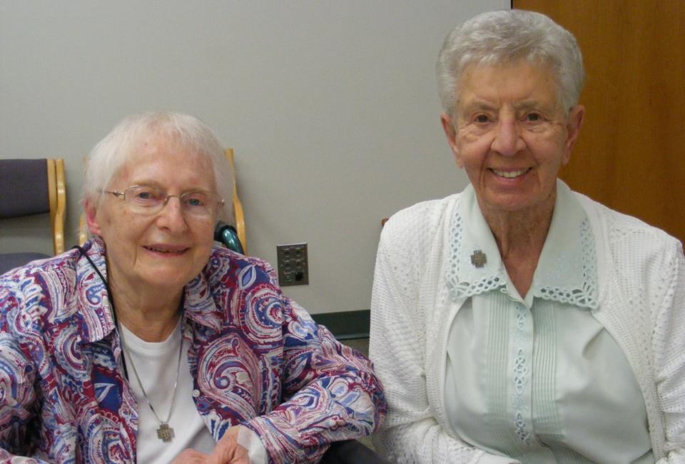Mary Ann And Joanne Grib