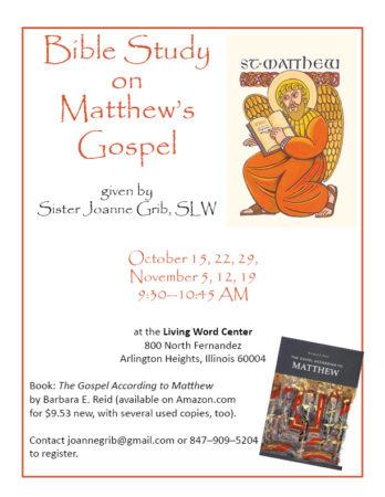 Bible Study on Matthew's Gospel @ Living Word Center