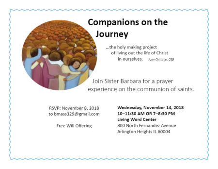 Companions on the Journey Prayer Service @ Living Word Center