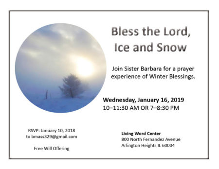 Bless the Lord, Ice and Snow prayer experience @ Living Word Center