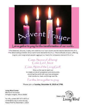 Advent Prayer Service @ Living Word Center