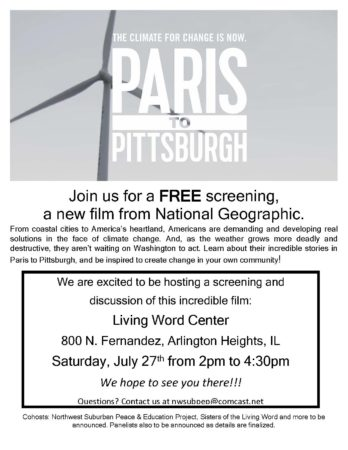Paris to Pittsburgh - Free Screening at LWC @ Living Word Center