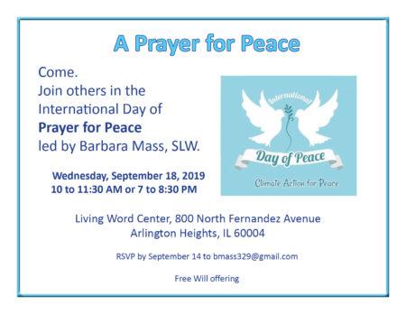 A Prayer for Peace @ Living Word Center